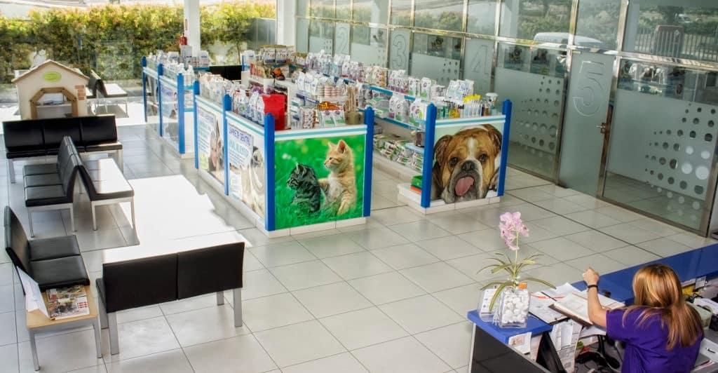 clinica veterinaria arago tienda
